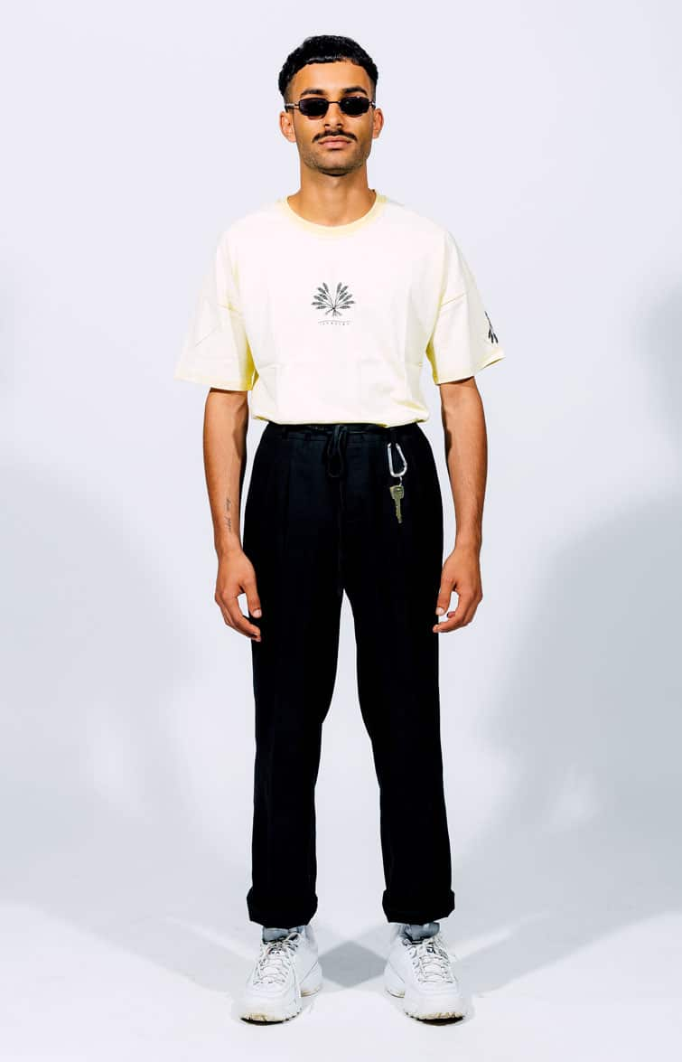 Offwhite T-Shirt Introvrt Envy Männer