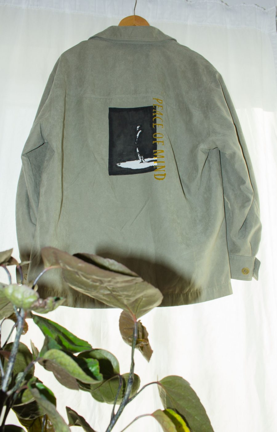 Green Introvrt Jacket unique Piece